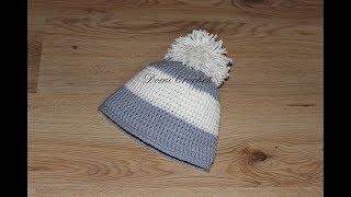 Zimná čiapka s brmbolcom