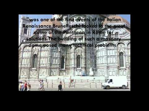 Cartoon knowledge, Italian Renaissance Architecture