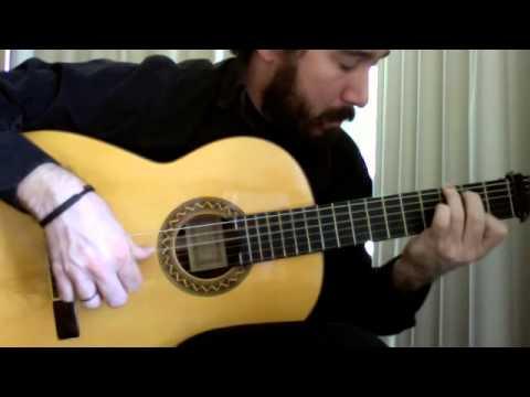 Flamenco Tremolo Exercise - 5 (Taranta by Paco de Lucia)