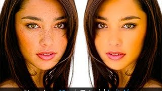Eliminar las imperfecciones de la cara con Photoshop