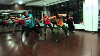 Violin Song (Girl Just) - Iddarammayilatho  - Choreo by Mahesh - Zumba fitness with Dancejockey