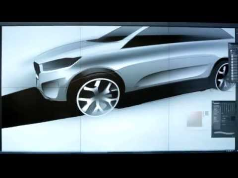 Kia Sorento New Model Sports - SUV Premiere at Paris Motor Show