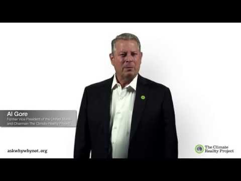Vice President Al Gore Would Like You to be the Voice of Your Generation