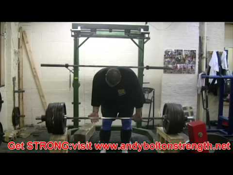 Andy Bolton Squat Training:Deadlift Traing,Grip Training,Leg Press 15th June 2011 Image 1