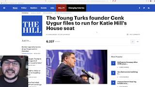 The Young Turks Founder Cenk Uygur Has Filed To Run For Congress in Katie Hill's District