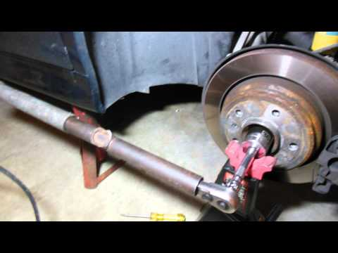 How to replace 1997-2003 BMW 5-Series E39 Rear Wheel Bearings