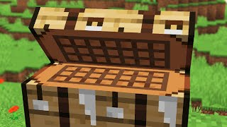 found a CURSED Minecraft crafting table (secret recipes)