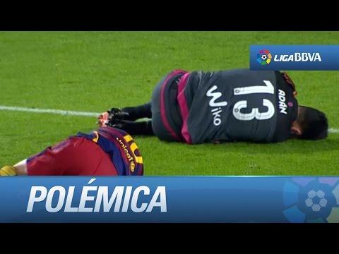 Messi terminó mal: mirá cómo quedó tras un duro golpe