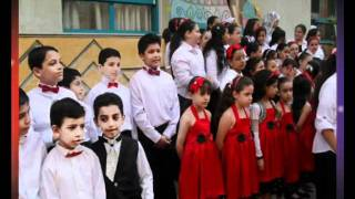 احتفالات مدارس طيبة الخاصة بدمنهور بحفلات 6 اكتوبر .wmv