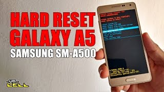 Hard Reset no Samsung Galaxy A5 (SM-A500)