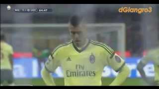 Tutti i gol del Milan Girone Andata 2014-2015
