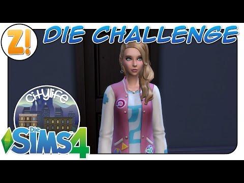 Sims 4 [Citylife Challenge]: Die Richtige für die Challenge + Regeln | Let's Play [DEUTSCH]
