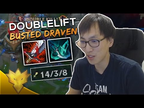 Doublelift - DRAVEN IS BUSTED! - League of Legends Stream Highlights