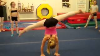 Gymnastics + Contortion work @ jersey cape dance + gymnastic