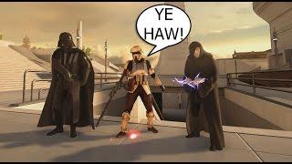 Hero 1v1ing Fans: A Repeat Offender - Star Wars Battlefront