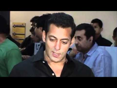 Salman Khan Hosts premier of Chillar Party