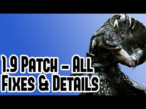 New Elder Scrolls Skyrim 1.9 Patch Details - Legendary Mode Difficulty & Bug Fixes - All News