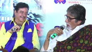 Amitabh Bachchan Makes FUN Of Shatrughan Sinha In Public  from Movie Talkies
