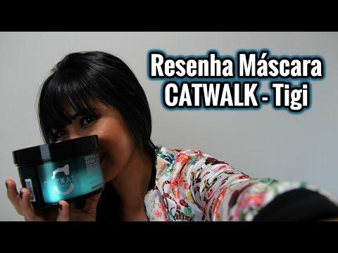 MÁSCARA PARA CABELOS RESSECADOS E COM QUÍMICA- REVIEW - Catwalk Oatmeal & Honey  #VAEDA