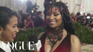 Nicki Minaj on Tempting Men at the Met Gala | Met Gala 2018 With Liza Koshy | Vogue