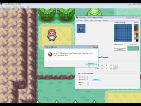 Como cambiar de personaje en pokemon (GBA)