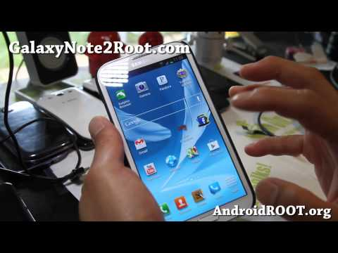 AndroidRevolution HD ROM for Rooted Galaxy Note 2 GT-N7100!