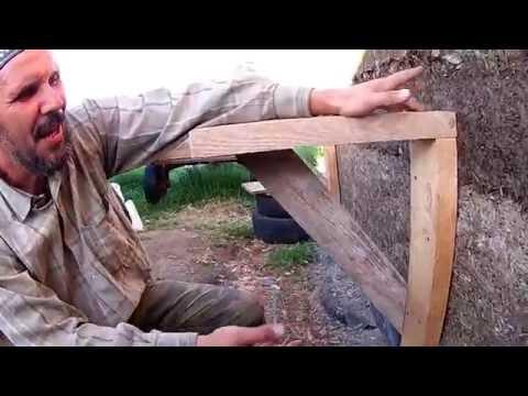 Птичник из арболита-8: Леса и проблемы с опалубкой// Из города в деревню