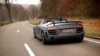Audi R8 GT Spyder roadtest (english subtitled)