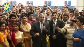 بالفيديو : سفير الهند يرحب بالحضور باللغه العربية في مطار القاهره