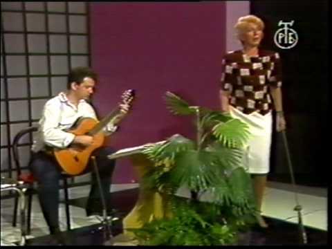 Dubravka Zubovic, Srdjan Tosic, guitar, FGLorca, Nana de Sevilla, TV Beograd.mpg