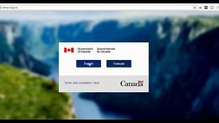 GC key Account for Canada Visa