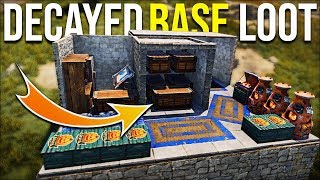 RUST DECAYED BASE FIND GIVES EARLY GAME JUICY JACKPOT LOOT - Rust Survival Gameplay   S15-E3