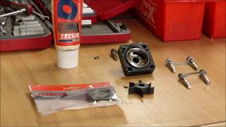 Yamaha 15Hp 4-Stroke impeller change