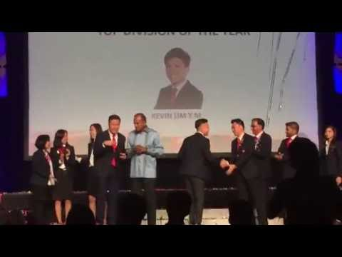 Kevin's Thank You Speech for Top Team @ 2016 ERA Asia Pacific Business Conference