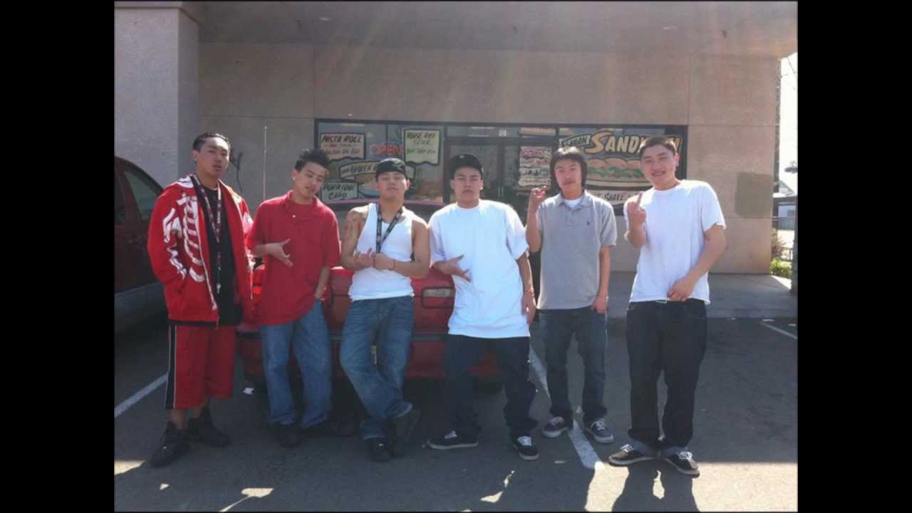 This Asian gangs fight culo