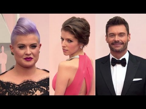Oscars 2015 - Red Carpet (Anna Kendrick, Kelly Osbourne, Ryan Seacrest & More)