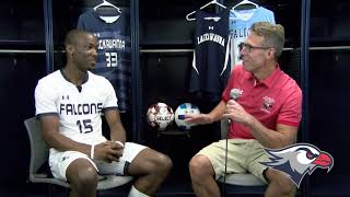 Lackawanna College Media Day 2019 Men's Soccer Sophomore Anton Paul