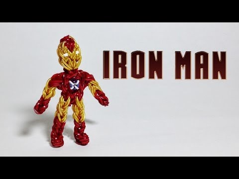 Rainbow Loom Avengers Series: Iron Man