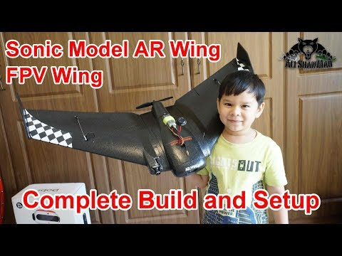 How to Assemble and Setup SonicModell AR Wing FPV Flying Wing