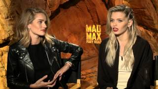 Mad Max: Fury Road: Rosie Huntington-Whiteley & Abbey Lee Official Movie Interview