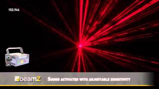 BeamZ Anthe RGB Laser with Remote 152.944