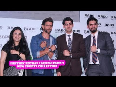 Hrithik Roshan Launch Rados New Sports Collection | Latest Bollywood Movies News 2017