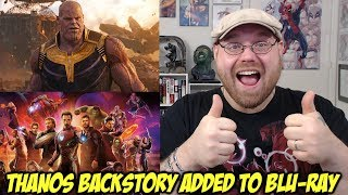 Thanos Backstory Added Into Avengers Infinity War Blu-ray!!!