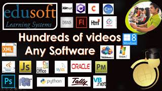 Edusoft Learning Systems-Software Training Tutorials in Telugu