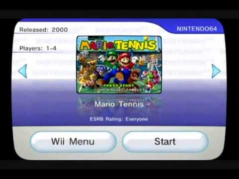 Mario Tennis Getting the GBC Characters on Virtual Console