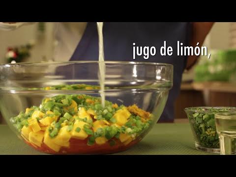 ¿Cómo preparar Tostadas de Pollo BBQ en Salsa Margarita?- Cocina Fresca