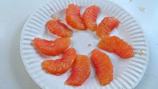 How To Peel Grapefruit?