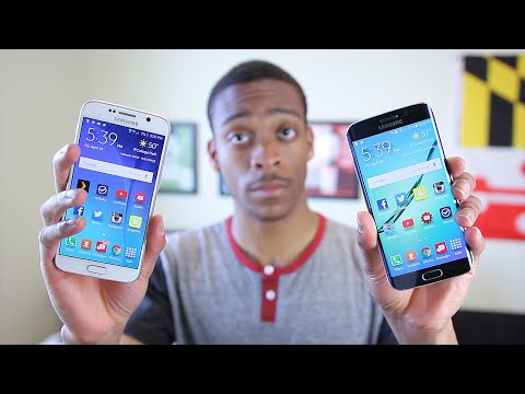 Samsung Galaxy S6 vs S6 Edge Review!