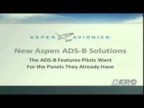Aero-TV: Aspen Avionics - AEA's 2013 New Product Introductions
