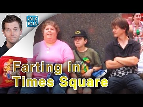 Farting In Times Square (Bonus Pooter Footage)